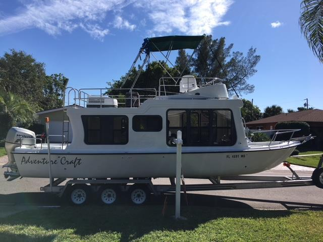 Awesome picture of adventure craft houseboat fabulous for Used adventure craft 28
